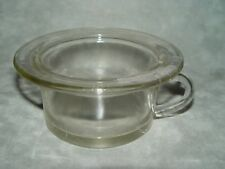 "Vintage Baby Childrens Glass Chamber Pot 4 3/4"" across base 3""Tall"