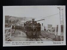 ON THE VALE OF RHEIDOL RAILWAY Aberystwyth - Pamlin Print Postcard No.M3263(S)