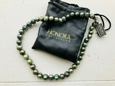 Honora Sea Green Pearl Necklace