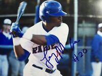 Terry McClure Signed 8x10 Photo Colorado Rockies Autographed Picture