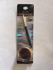 BULK Buy 3 X Milani Fierce Foil Eyeliner GEL - Metallic Shimmer Eyeshadow Brown