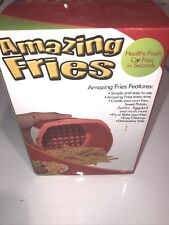 Tekno Products Amazing Fries As Seen On TV French Fry Cutter