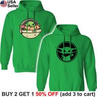 Baby Yoda Hoodie Sweatshirt Hooded Sweater Shirt The Mandalorian Child Star Wars