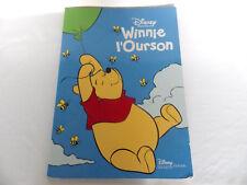 Livre géant WINNIE l'ourson disney hachette 2004 oversize book the pooh 55 x 40