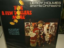 For A Few Dollars More + Others - Leroy Holmes vinyl film themes album