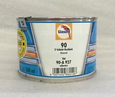 Glasurit Wassermischlack 90-A 927 Uni SCHWARZ 0,5 Liter
