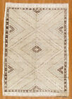 """Momeni Heirlooms Vintage Hand Knotted Wool White Area Rug 6' X 8'8"""""""