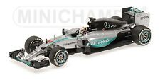 MINICHAMPS 150044 MERCEDES W06 F1 car Lewis Hamilton World Champion 2015 1:43rd
