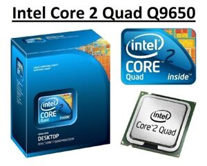 Intel Core 2 Quad Q9650 SLB8W 3.0GHz, 12MB Cache, 4 Core, Socket LGA775, 95W CPU