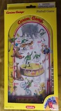 "Schylling Child's Curious George Pinball Game 10"" Long New Mint in Box"