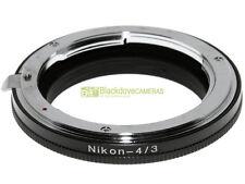 Anello adapter x montare ottiche Nikon su corpi 4/3 Adattatore. A43