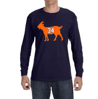 Chicago Bears Walter Payton Goat Long sleeve shirt