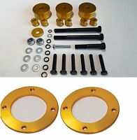 WAY2TUFF COIL STRUT SPACERS 20MM LIFT & DIFF DROP KIT for TOYOTA LANDCRUISER 200