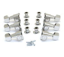 Schaller Chrome M6 Mini 3x3 Tuners for Gibson Les Paul/SG® Guitar TK-7973-010