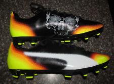 Puma Speedtrack Duaflex Soccer Cleats shoes Men's Size 12 Black Orange Yellow