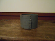 EARLY ANTIQUE PRIMITIVE DRY MEASURE WITH OLD BLUE GRAY PAINT