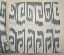 2 UZBEK SILK IKAT FABRIC PILLOW CASES ORIENT 6353- 6763