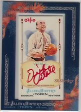 2011 ALLEN & GINTER'S AUTO RED: DICK VITALE #2/10 AUTOGRAPH COLLEGE/NBA HOOPS