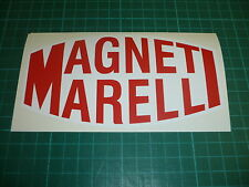 """MAGNETI MARELLI 6"""" Sticker Pair - Classic Rally and Racing"""