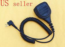 Heavy Duty Hand/Shoulder Mic Speaker for Motorola two way radio 2 pin plug