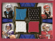 CAM NEWTON 4 ROOKIE RC JERSEY CARD #d16/25 ANDY DALTON CHRISTIAN PONDER SUPREME