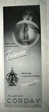 1940 Corday Tzigane and Toujours Moi Perfume Bottles Ad