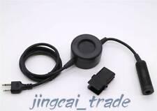 Z-Tactical Headset Round PTT Cable for ICOM COBRA VERTEX 2-Pin Ham Radio