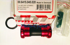 Truvativ SRAM GXP Ceramic Red Road & MTB English Threaded Bottom Bracket New