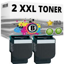 2 XL TONER für LEXMARK CS317DN CS417DN CS517DE CX317DN CX417DE CX517DN