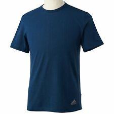 adidas Performance Men's Logo Ap Training T-Shirt - Large - Navy - New