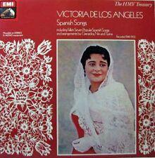 VICTORIA DE LOS ANGELES Spanish Songs LP