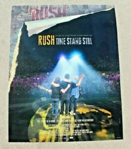 Rush R40 - Time Stand Still Promotional Poster
