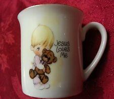 "Enesco Precious Moments ""Jesus Loves Me"" Cup 1985 Japan !"