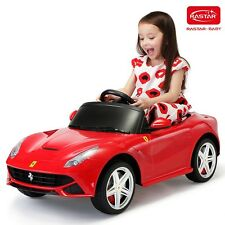 Ferrari F12 Kids Electric Ride On Car Riding Toy w/MP3 Remote Control Red