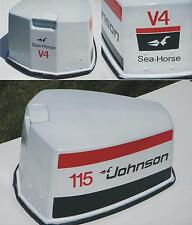 Johnson Outboard  decal set  for V4 motors late 70s
