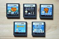 NDS - 5 Spiele für Nintendo DS (Set 43)