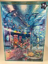 1000pc MICKEY MOUSE (DISNEY) Aquarium JAPANESE Jigsaw Puzzle