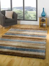 Polyester Striped Shaggy/Flokati Rugs