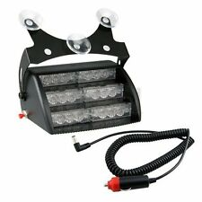 12v - 24v AMBER LED DASHBOARD GRILL FLASHING LIGHTS STROBE RECOVERY VEHICLE CAR