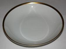 Arzberg Plato Sopero Blanco, Oro Negro Borde con Dibujos Nr. 3106 , Porcelana