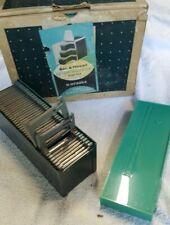 Bell & Howell Slide Master Slide Trays 6 Trays Slidemaster