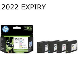 HP GENUINE 955 4 Ink Cartridge Value Pack OfficeJet Pro 8210 8216 8710 8740