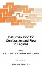 Nato Science Series E Ser.: Instrumentation for Combustion and Flow in...