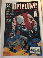 Detective Comics #598 NM Condition Batman DC Comic Book 1989 Blind Justice