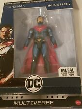NEW DC Multiverse Injustice 2 Superman 6.5? Metal Figure **FAST SHIPPING**