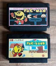NES Famicom Pac-Man and Pac-Land