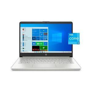 NEW HP 14 LAPTOP FHD IPS 4GB RAM 256 GB SSD Intel Core i3 Windows 10 in S mode