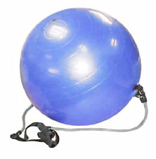 Ironman 65cm Blue exercise Gym Ball with Handles
