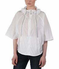 BENCH WOMENS WHITE GLORIFY PONCHO JACKET SIZE XS UK SIZE 8 BNWT RRP £80.00