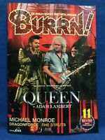 BURRN November 2019 Hard Rock Heavy Metal Magazine Japan Queen Michael Monroe